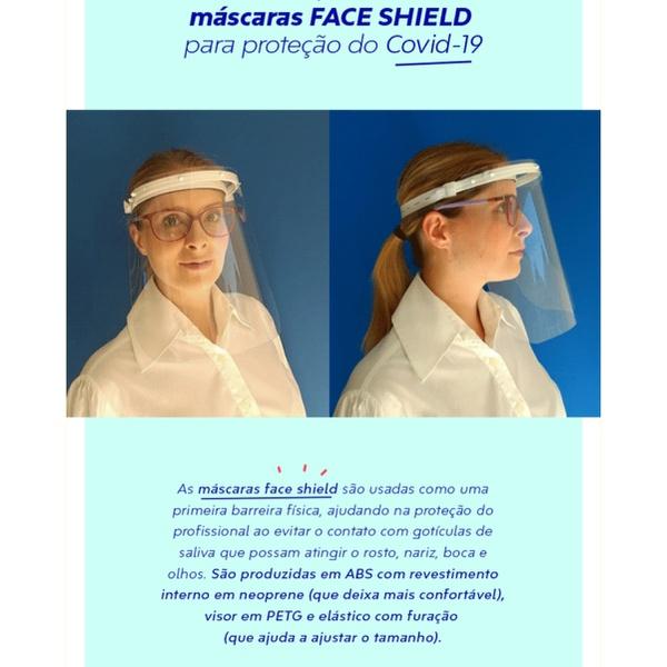 Máscara Protetora Facial Face Sheild