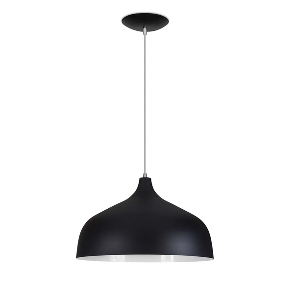 Pendente Luxor Preto Kin Light