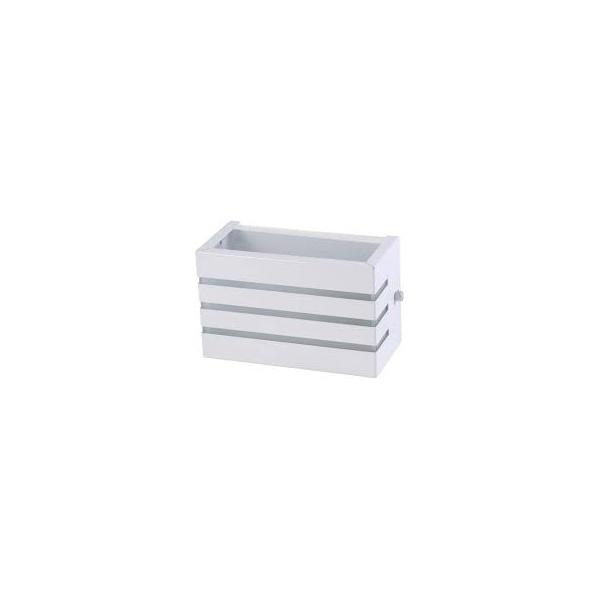 Arandela Alumínio Friso Branco Brilho Bady Lux