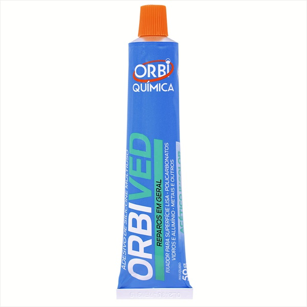 Silicone Incolor Blister 50gr 5542 Orbi Química