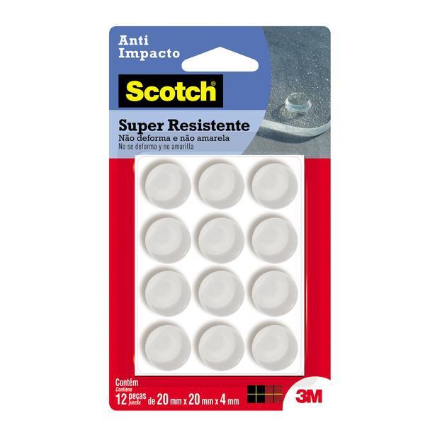 Protetor Anti-Impacto 3M Scotch™ Redondo Extra Grande - 12 unidades