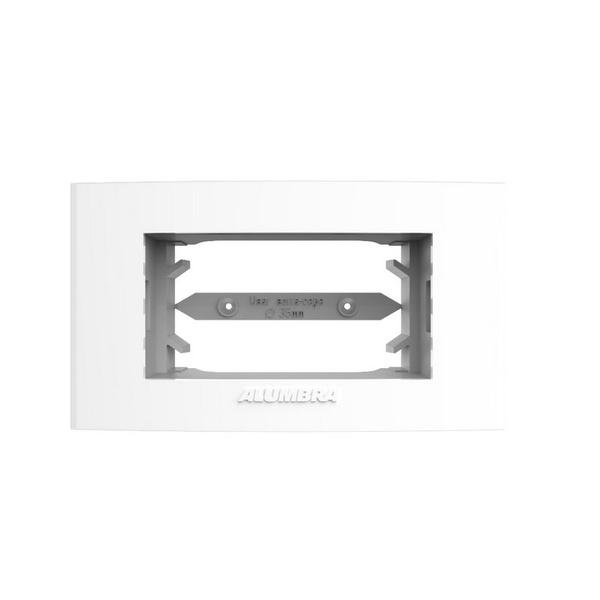 Placa 1 Módulo Horizontal Branco Inova Pro - 85075