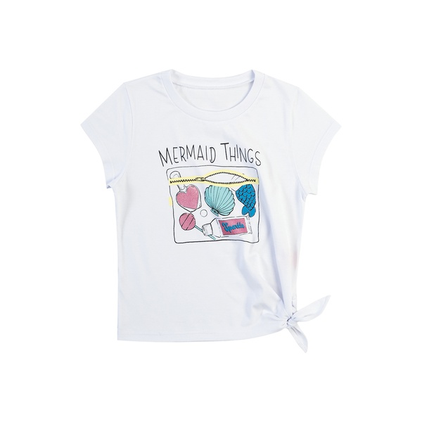 Blusa Dila Infantil Feminina Branca Tamanho 12 ao 16