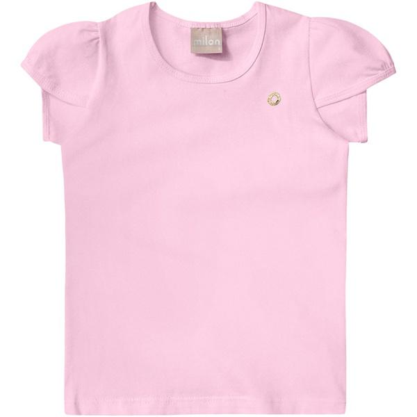 Blusa Milon Infantil Feminina Rosa