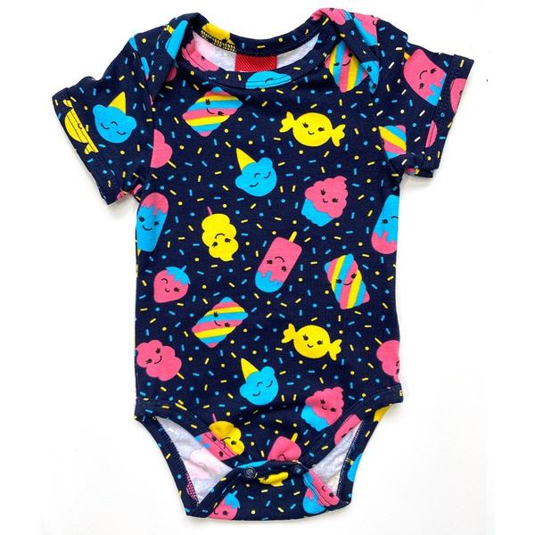 Body Kyly Bebê Feminino Azul