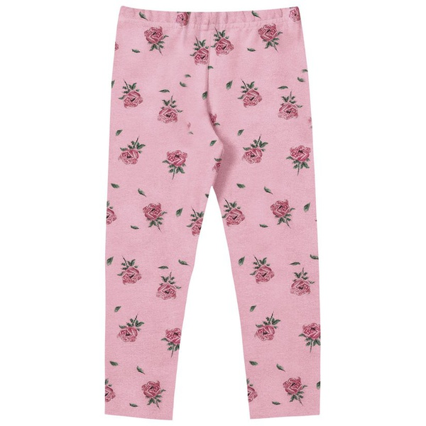 Calça Legging Flanelada Fakini Infantil Feminina Tamanho 4 ao 10