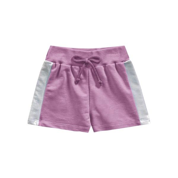 Short Fakini Infantil Feminino 4 ao 10 Rosa