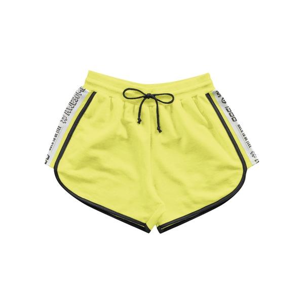 Short Fakini Infantil Feminino 12 ao 16 Verde Neon