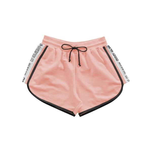 Short Fakini Infantil Feminino 12 ao 16 Laranja Neon