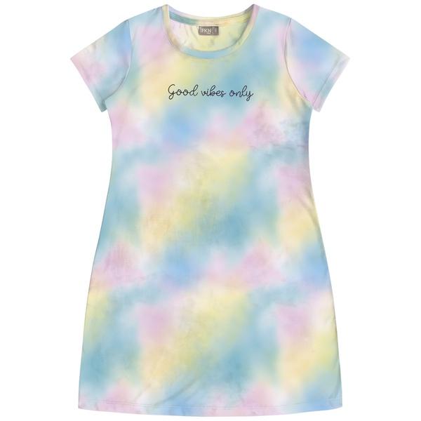 Vestido Fakini Infantil Feminino 12-14-16 Tie Dye