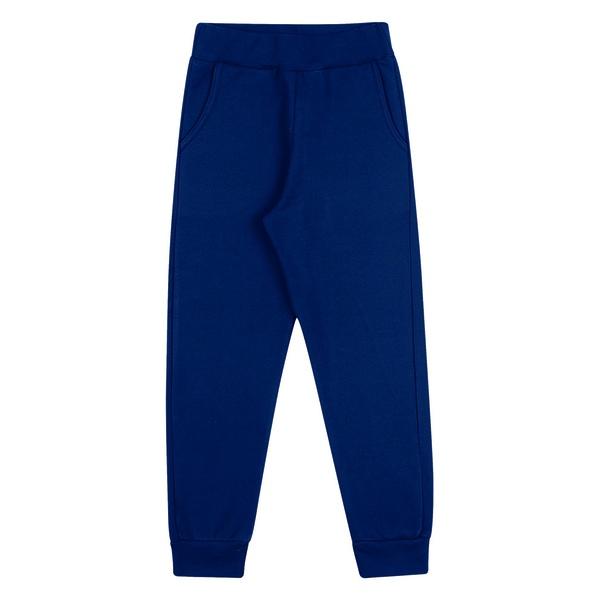 Calça Moletom Dila Infantil Masculina Azul Marinho Tamanho 4 ao 10