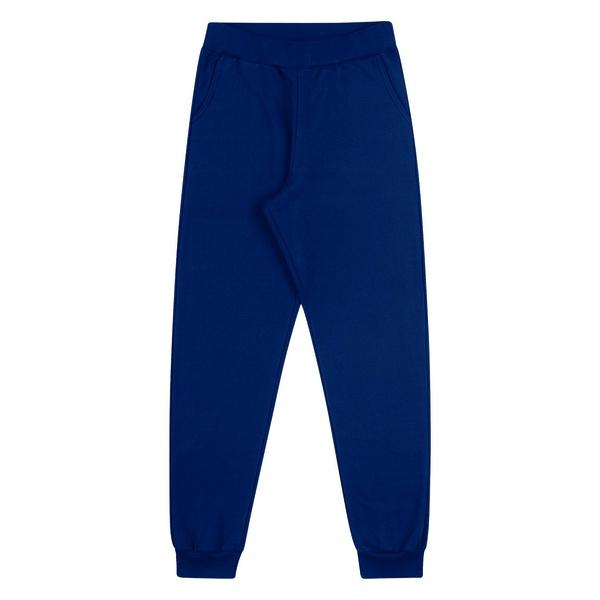 Calça Moletom Dila Infantil Masculina Azul Tamanho 12-14-16