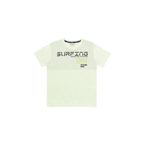 Camiseta Playground Infantil Masculina 4 ao 10 Verde