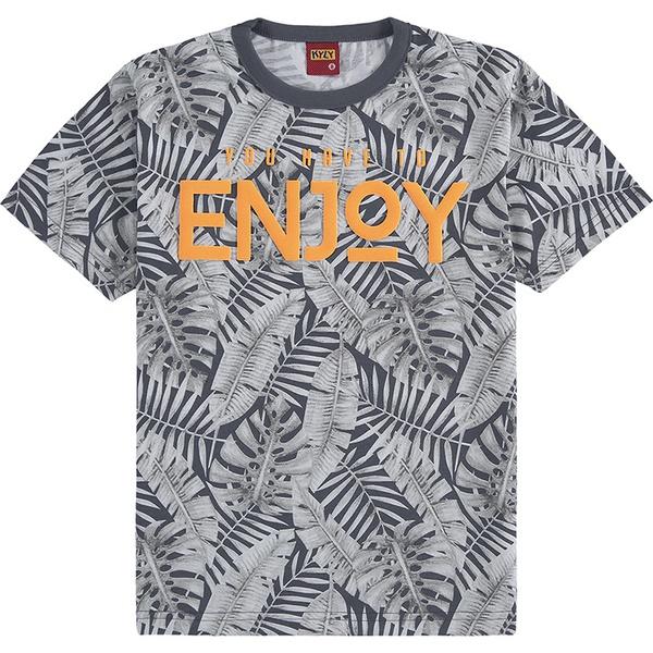 Camiseta Kyly Infantil Masculina 10 ao 18