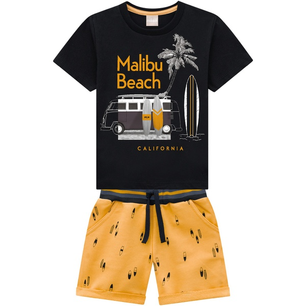 Conjunto Milon Bebê Masculino 1-2-3