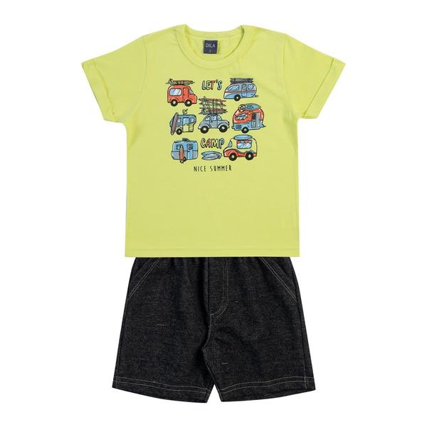 Conjunto Dila Bebê Masculino