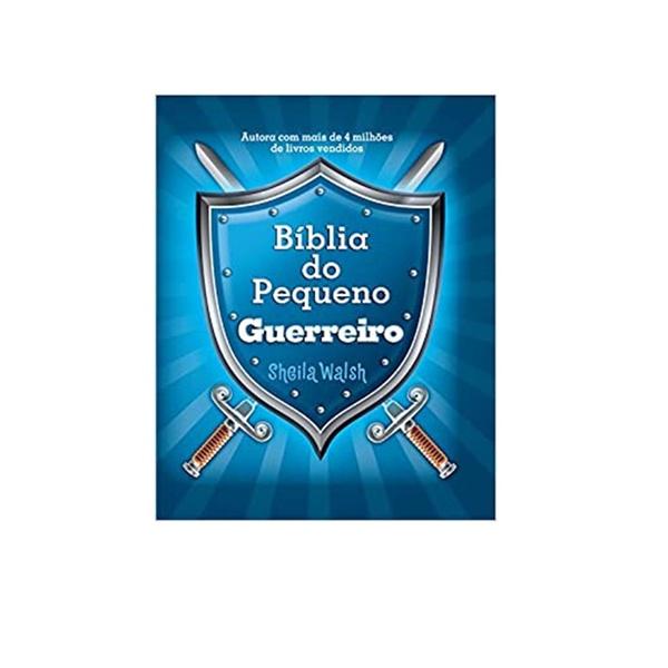 Bíblia infantil do pequeno guerreiro para criança capa dura