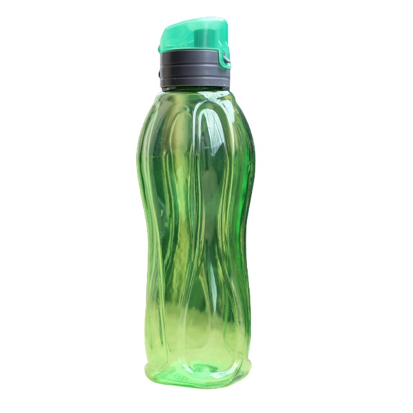Garrafa térmica verde água suco esporte caminhada academia