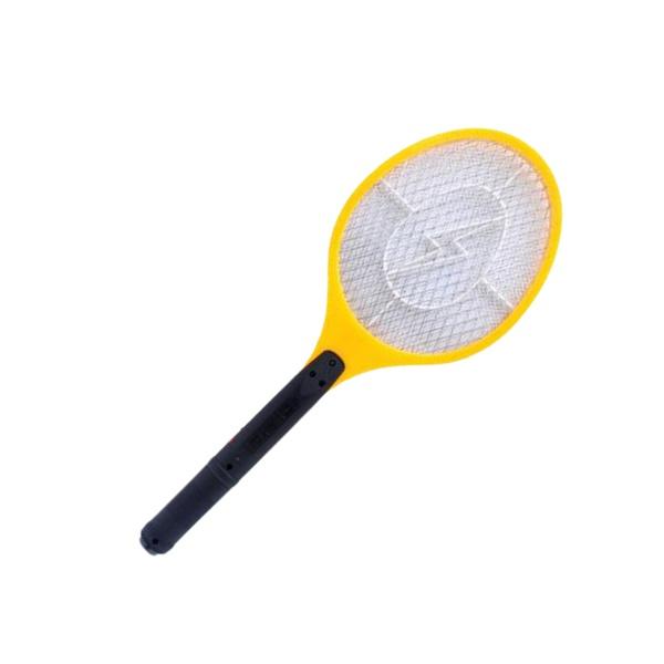 Raquete elétrica recarregável mata insetos moscas pernilongo