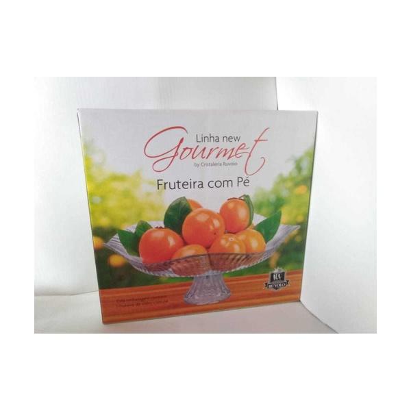 Fruteira e Saladeira com Pé Ruvolo