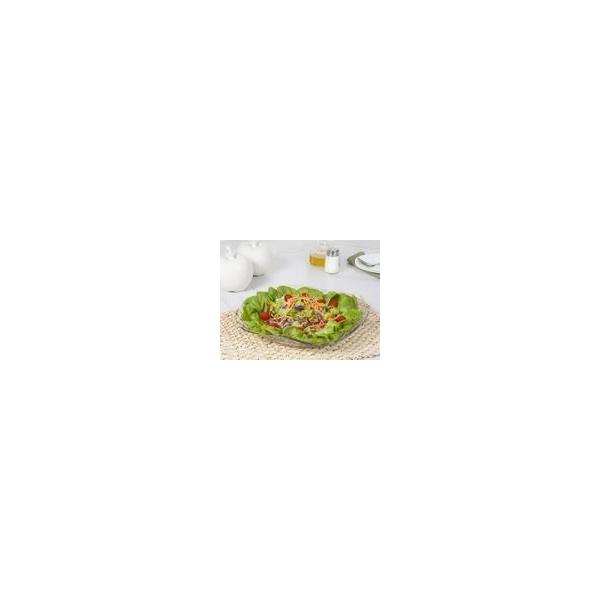 Saladeira de Vidro Redonda Ruvolo Gourmet - Bari