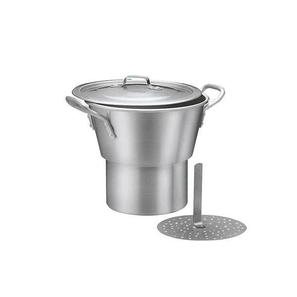Cuscuzeiro industrial alumínio 26