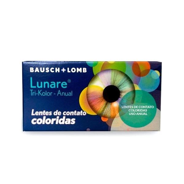 Lente Contato Lunare Anual Gray
