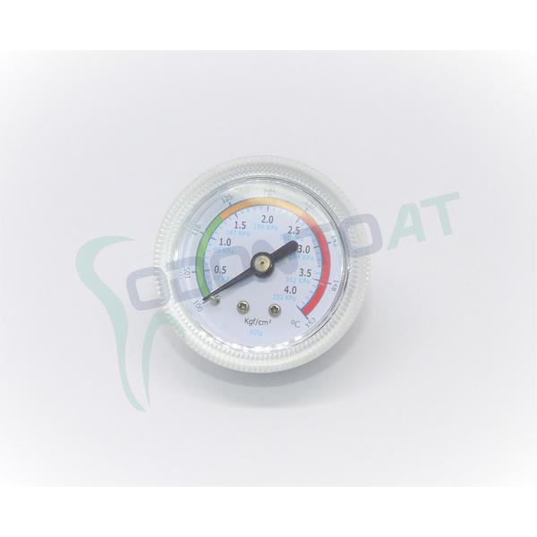 MANÔMETRO 0 A 4 KGF/MM2 100 A 152°C PARA AUTOCLAVES