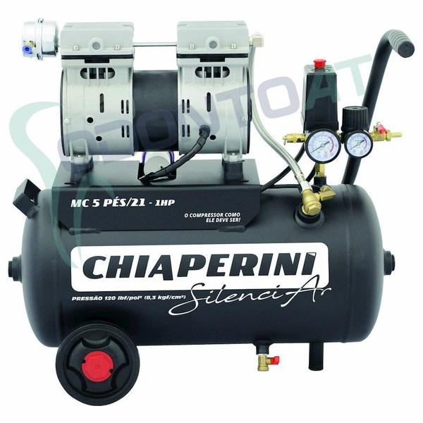 COMPRESSOR 5 BPO RCH 21L S/OLEO 220V SILENCIAR CHIAPERINI