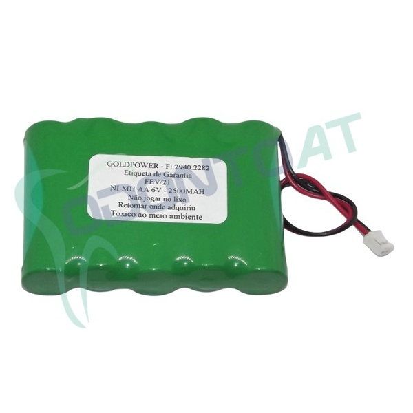 BATERIA ENERGY POWER NI-MH AA 6V-2200MAH P/ EQ. DENTSPLY