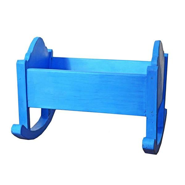 Berço Mini Azul