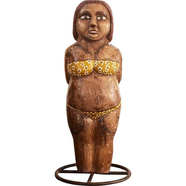 Escultura Boneca Gorda de Biquini