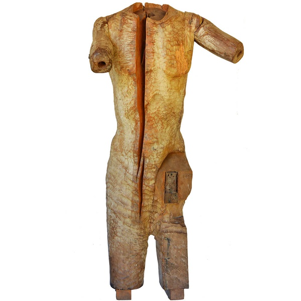 Escultura Fragmento Tronco Humano