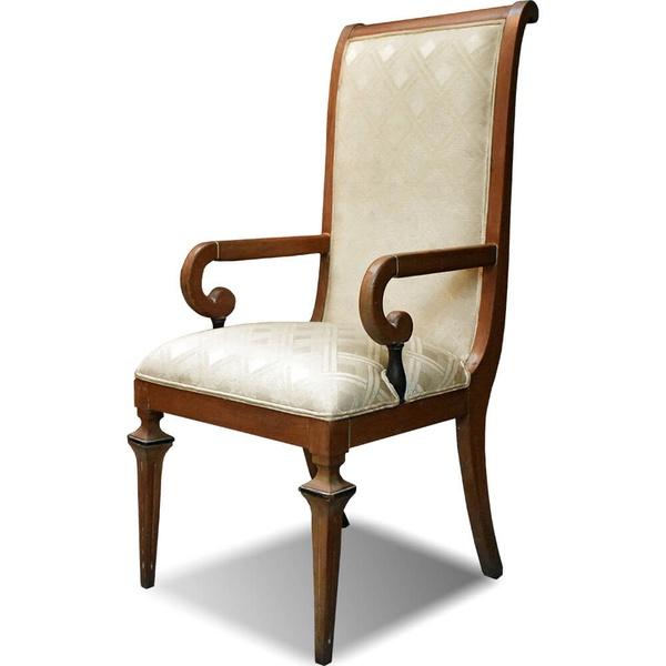 Cadeira Estofada com Encosto Alto