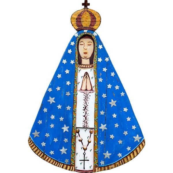 Painel Talha Recorte Nossa Senhora
