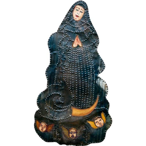 Painel Nossa Senhora da Conceição - Recorte em Metal