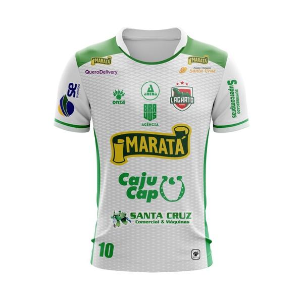 Camisa Branca Lagarto Futsal 2019/2020
