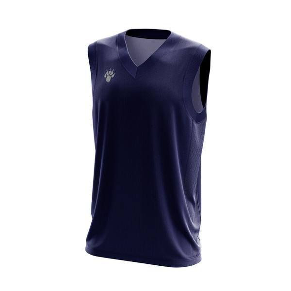 Camisa Regata Casual Masculina Cinza