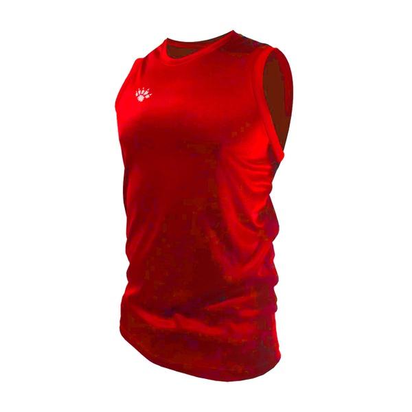 Camisa Regata Casual Masculina Vermelha