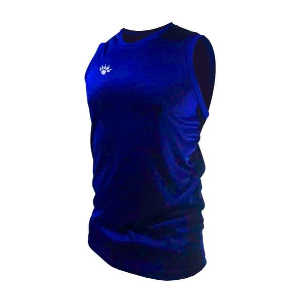 Camisa Regata Casual Masculina Azul