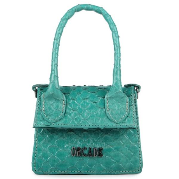 Mini Bag Estruturada Couro Jade