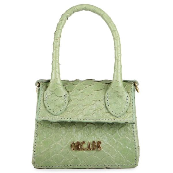 Mini Bag Estruturada Couro Siciliano
