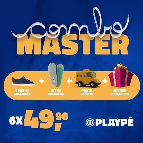 Assinatura Playpé Master - Escreva na observação do seu pedido: modelo, cor e tamanho deseja!