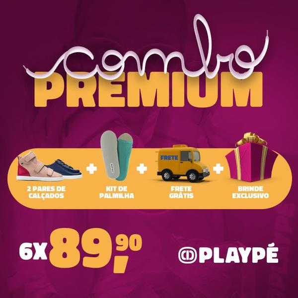 Assinatura Playpé Premium - Escreva na observação do seu pedido: modelo, cor e tamanho deseja!