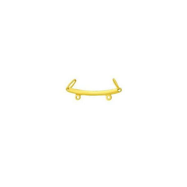 Canga Lisa - Separador de Pingentes em Ouro 18k