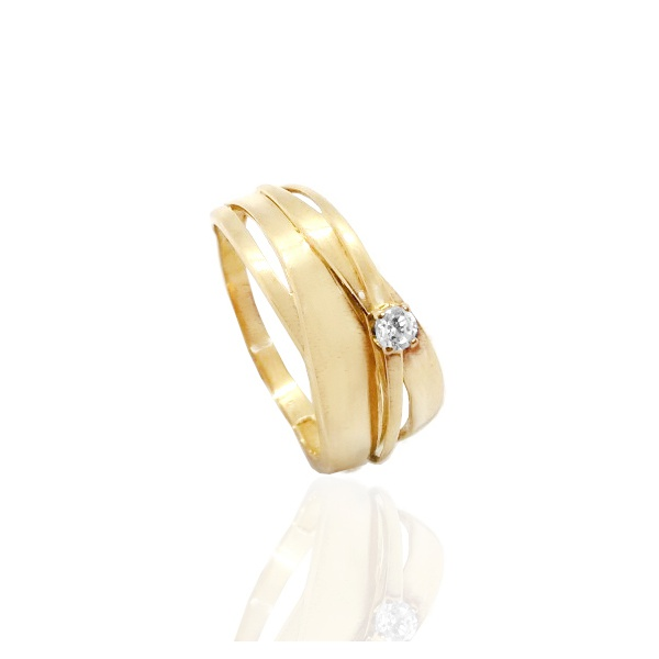 Anel Exclusivo em Ouro 18k