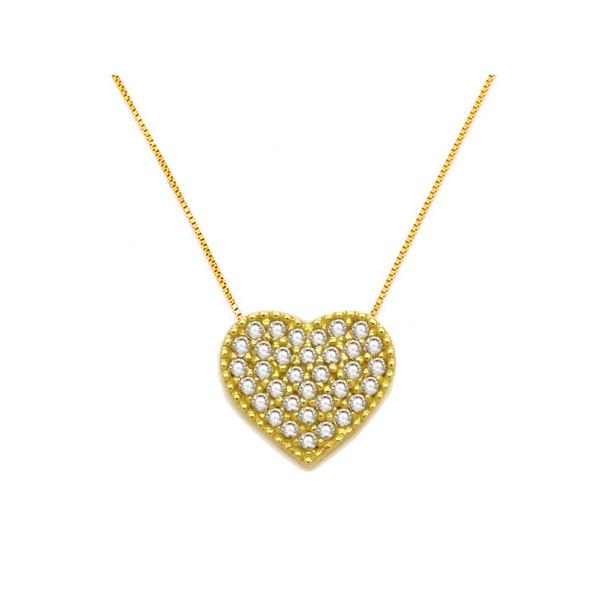 Gargantilha Love Ouro 18k