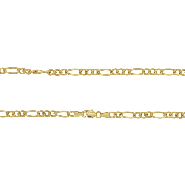 Corrente Groumet 3x1 em Ouro 18k