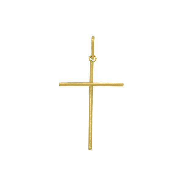 Pingente Cruz Palito Grande Ouro 18k