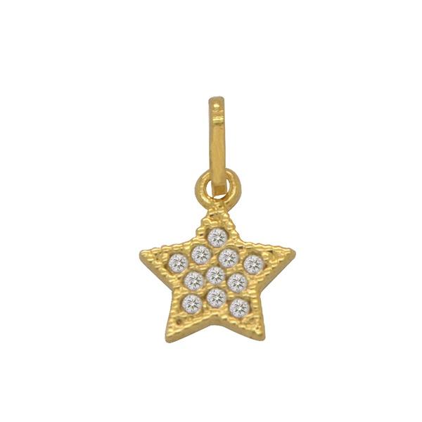 Pingente Estrela Ouro 18k